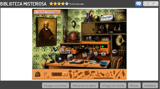 http://www.juegos.com/juego/biblioteca-misteriosa