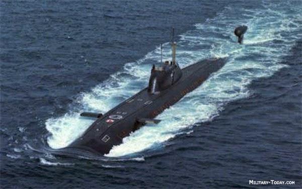 kapal selam victor III class