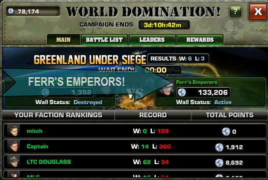 Modern War Faction Tips