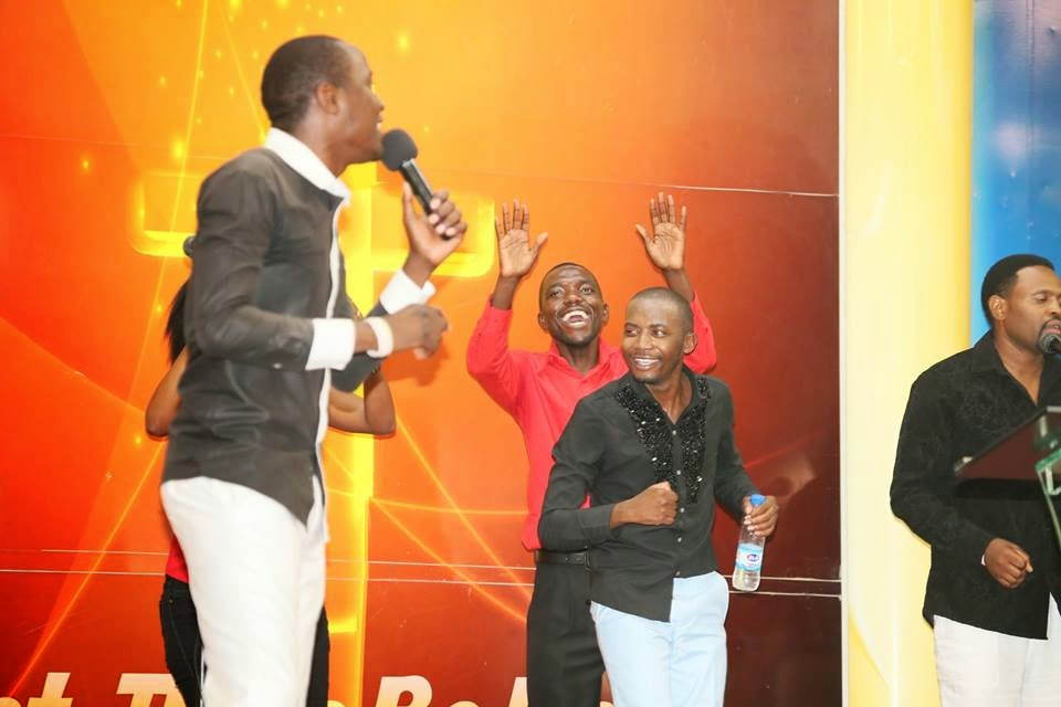 Gospel musician Mathias Mhere is in our midst for the powerful Sunday service