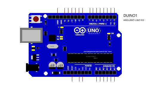 Simulation of Arduino Mega 2560 with GSM Module