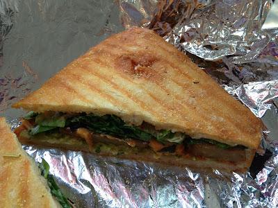Vegan Sandwich - Midtown Melt - Blossom Du Jour