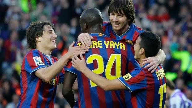 على ذمة يايا توريه: ميسي سيغادر برشلونة بسبب نيمار