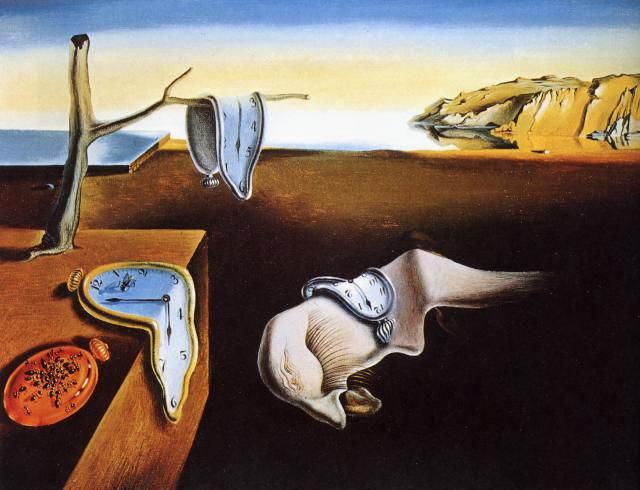 Supongo muchos ya conoceréis esta magnífica pintura del surrealismo. Esta famosa obra de Salvador Dalí no es una imagen fácil de olvidar, y lleva consigo un