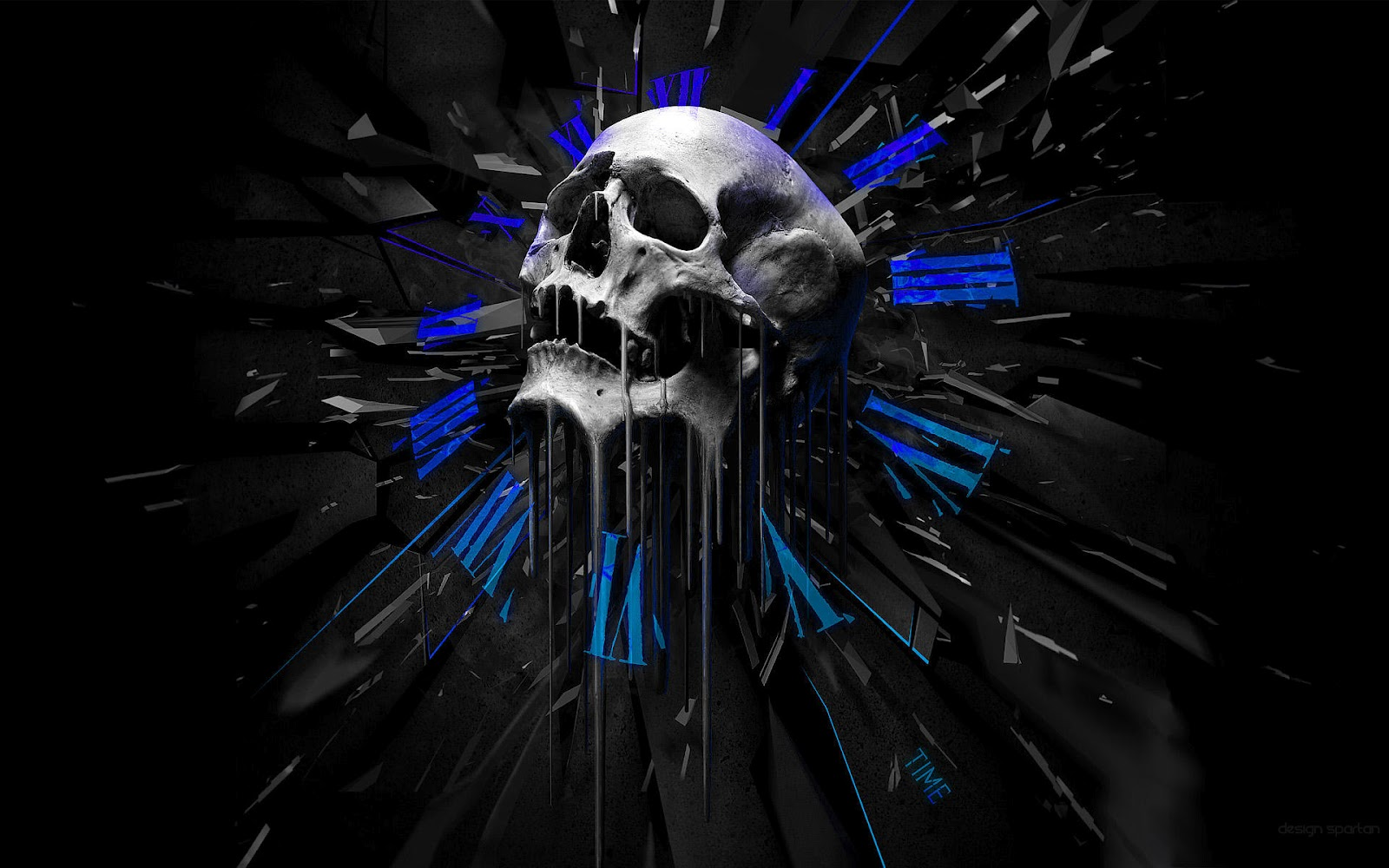skull wallpaper wallpapers hd - photo #19