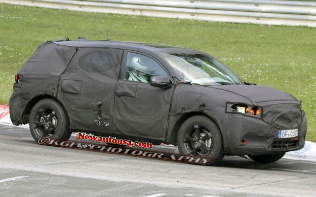2015 Honda Pilot Spy Photo