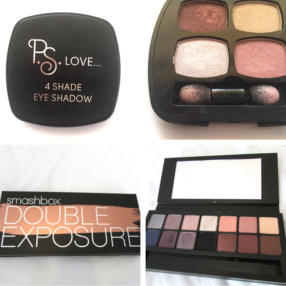 smashbox double exposure review ps love primark eye shadow review