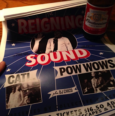 Reigning Sound @ The Horseshoe, Oct 25