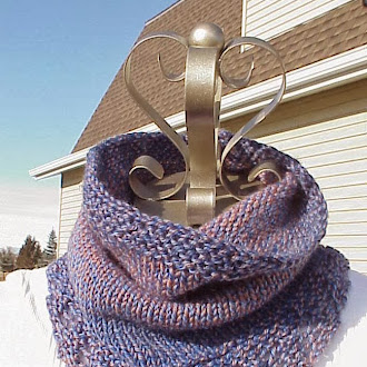 Bridger Cowl by Kris Basta - Kriskrafter, LLC