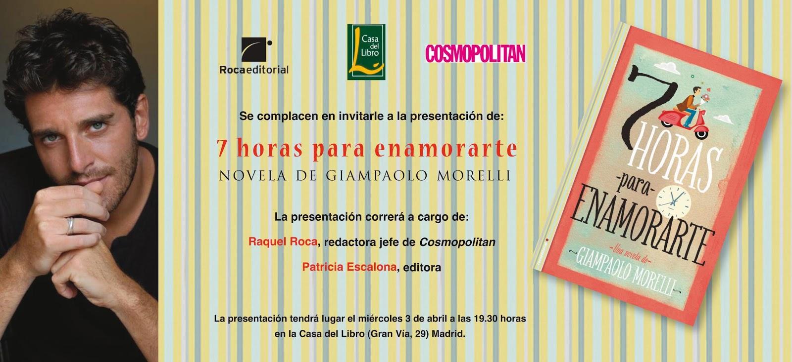 Presentación del libro de Giampaolo Morelli