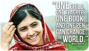 Malala Yousazai, 16 anni:  il coraggio di sfidare i talebani