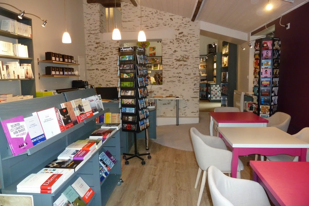 L 39 embellie librairie salon de th la librairie - Librairie salon de the ...