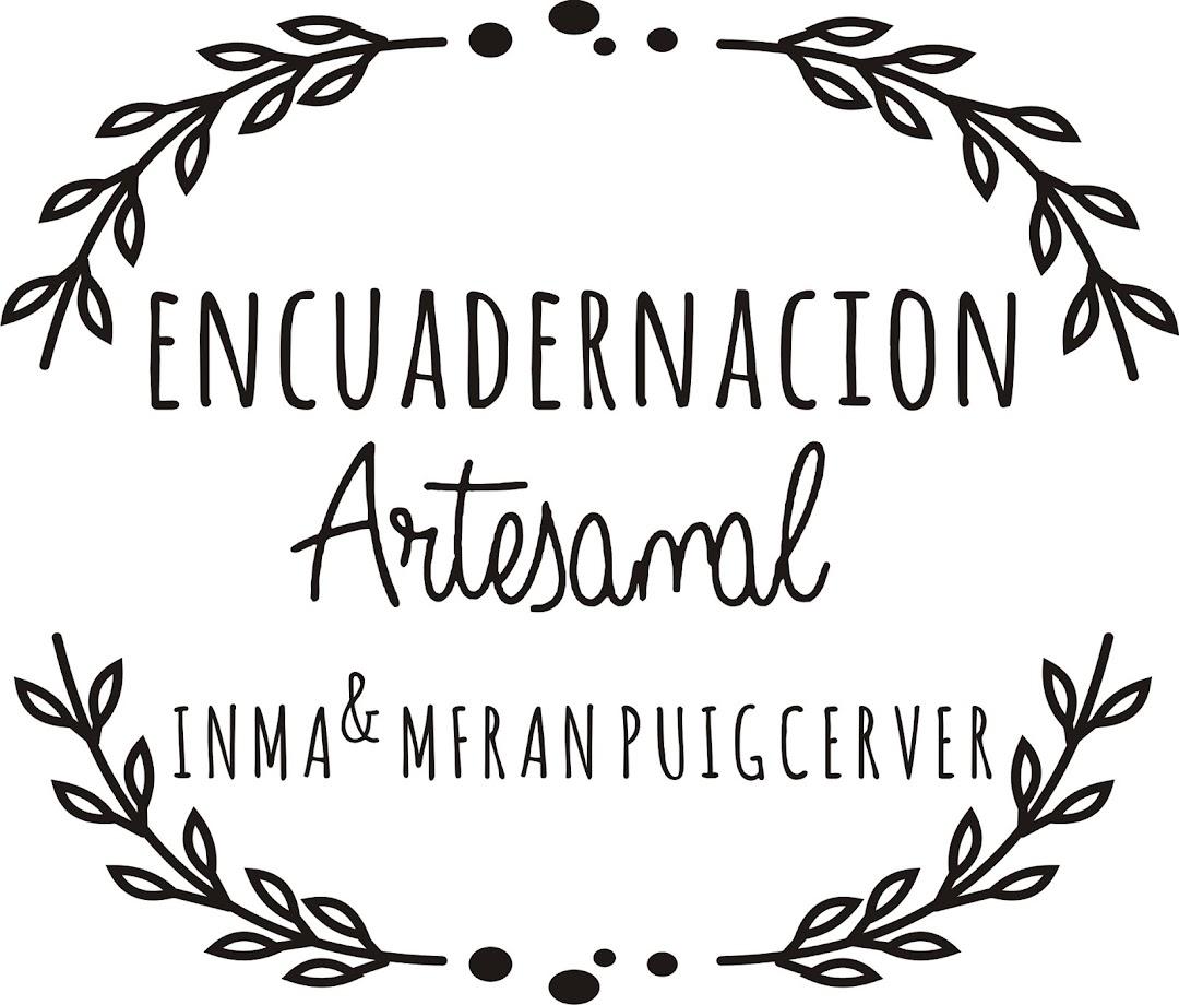 encuadernación artesanal Inma & Mfran