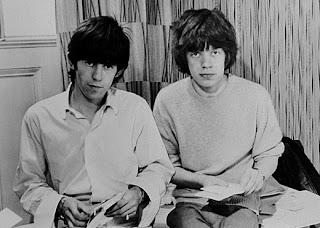 Richards y Jaggers cuando eran unos pipiolos