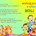 Beautiful Happy Holi 2016 Sms Wishes Message