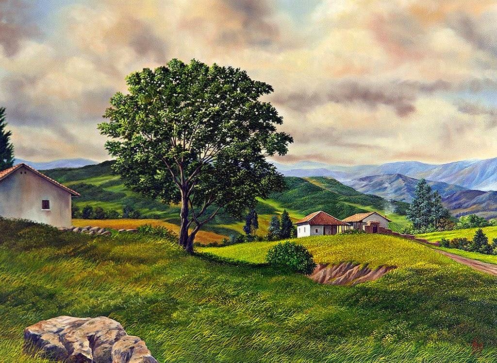 paisajes-de-pueblos-al-oleo