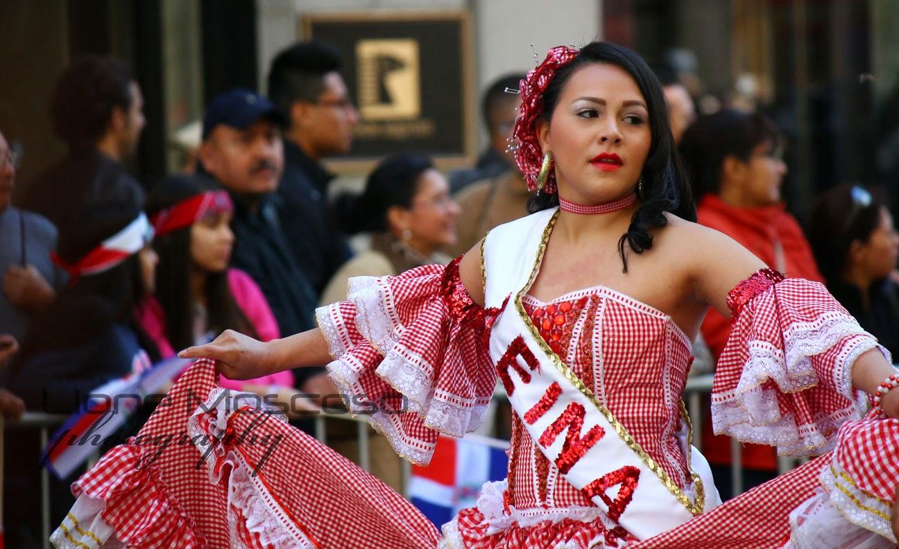 Desfile de la hispanidad de Nueva York 2014 - Colombia