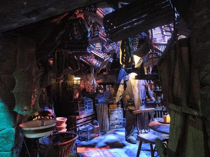 Cabana do Hagrid - Visitando os Estúdios de Harry Potter em Londres