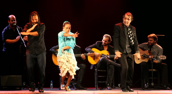 Dancing all night at Seville's bi-yearly Flamenco Festival in Spain!