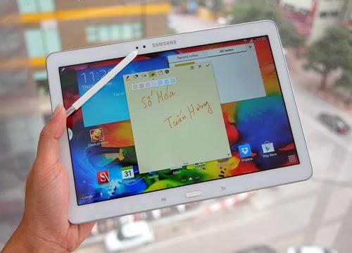 Samsung Galaxy Note 10.1 phiên bản 2014.