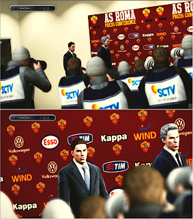 Press Conference AS Roma PES 2013 by Asun11