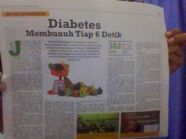 Diabetes membunuh tiap 6 detik