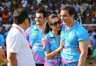 Celebrities Pictures at CCL Season 5 Mumbai Heroes Vs Veer Marathi Match CCL5  50
