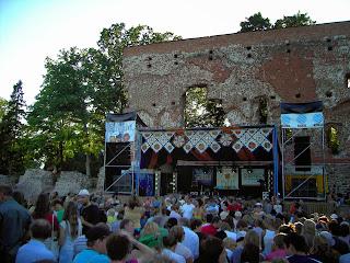 Viljandi durant le folk festival