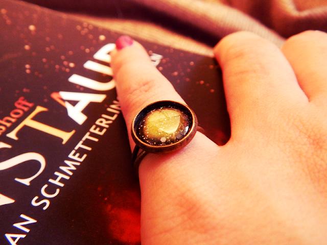Ring Galaxie Kernstaub