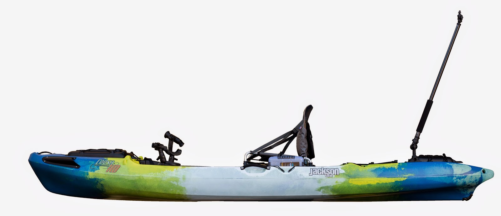 Long cloud kayaks jackson kayak coosa hd for Fishing jackson kayak