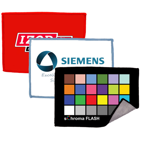 Custom-brand an ARTcloth Smartie Microfiber Cleaning Cloth with your company logo or message