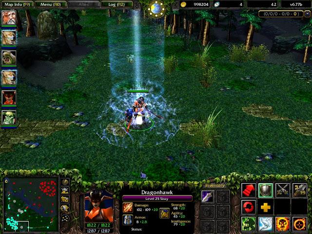 dota 6 77b hidden heroes leaked dota utilities