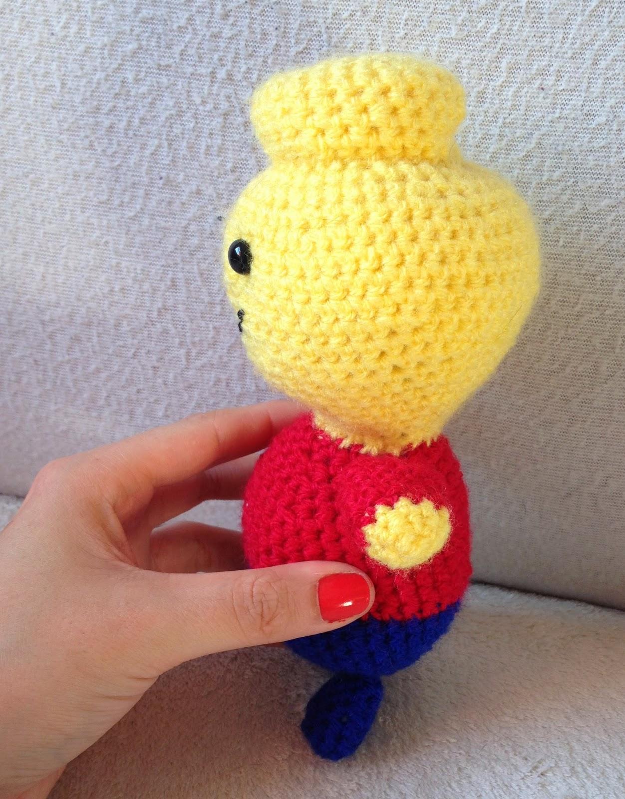 Amigurumi Lego Man : The Perfect Hiding Place: Crochet Amigurumi Lego Man ...