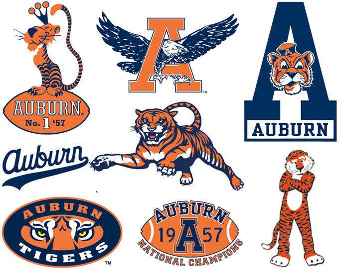 auburn uniform database auburn logos then and now rh auburnuniforms com auburn university logo colors auburn university logo font