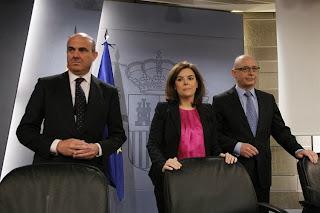Consejo de Ministros y Créditos Fiscales