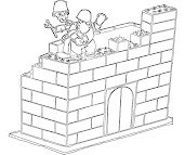 #6 Lego Coloring Page