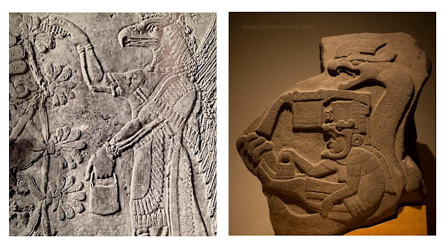 Antiguas Civilizaciones Mesopotamia y Asiria. Dioses y personajes mitológicos. Mesoamérica y Mayas. Coincidencias
