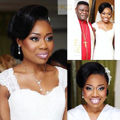 only child of Bishop Mike Okonkwo wedding