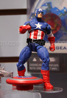 Hasbro 2013 Toy Fair Display Pictures - Avengers Assemble - Captain America figure