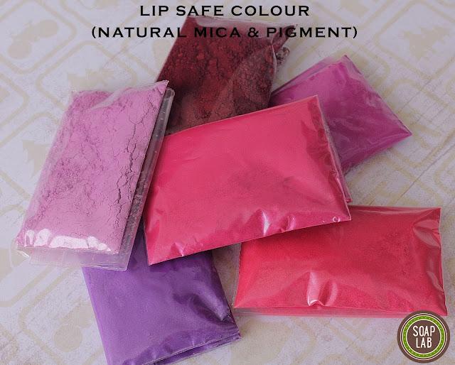 Lip Colour malaysia Mica and Pigments