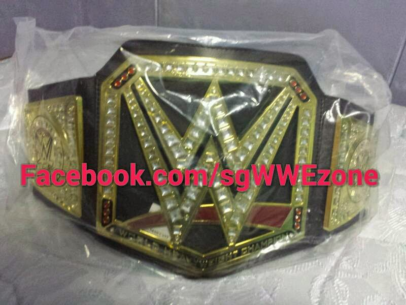 Wwe World Heavyweight Championship Belt 2014 Toy Title Belt