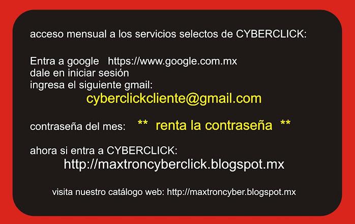 CYBERCLICK acceso total