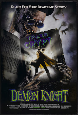 Billy Zane and Cryptkeeper on Demon Knight poster