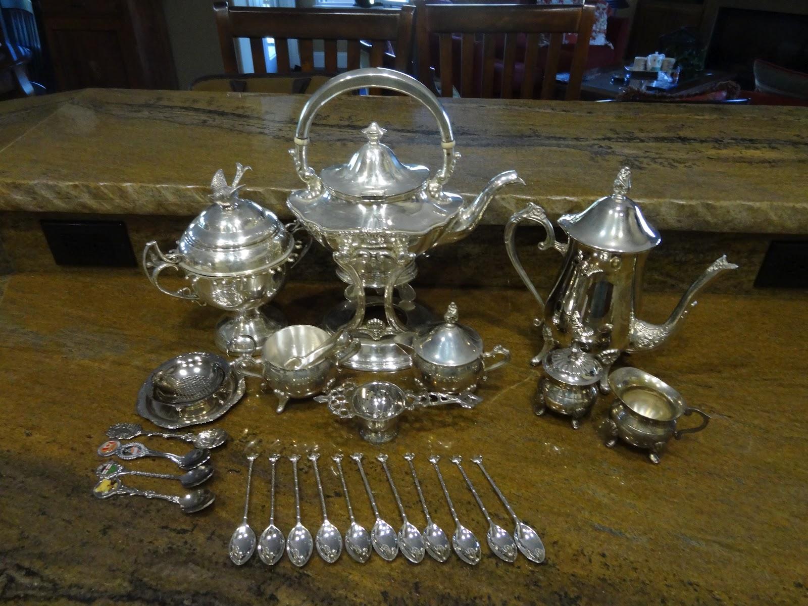 Jo Traveler Quick Easy Way To Polish Your Silver Tea Set