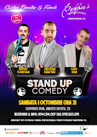 Stand-Up Comedy Samabata 1 Octombrie Bucuresti