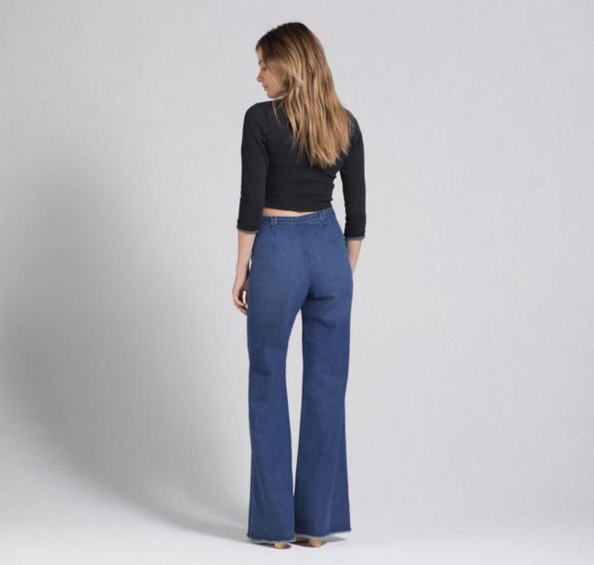 Jeans calce trasero