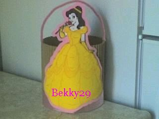 Children Party Decoration Beauty and the Beast centerpieces