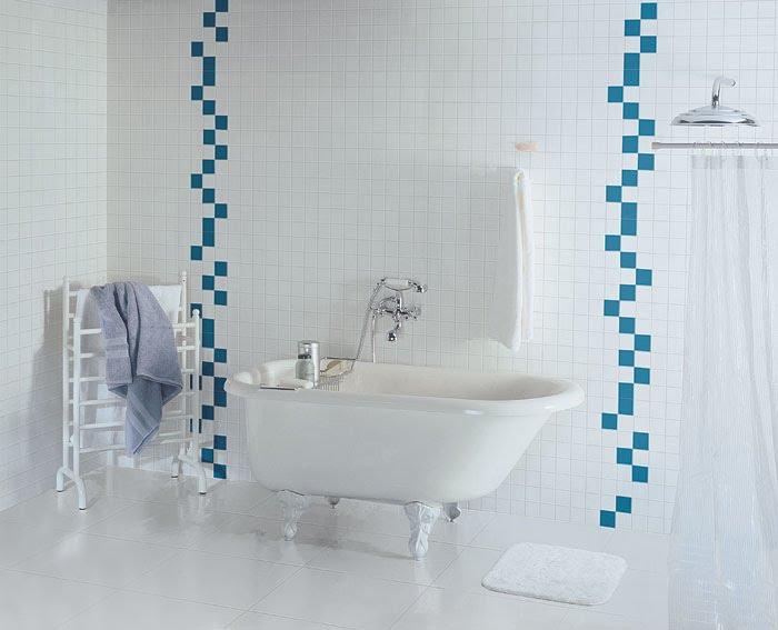 TUDO EM ACABAMENTO BANHEIROS COM PASTILHAS -> Banheiro Com Acabamento Em Pastilhas