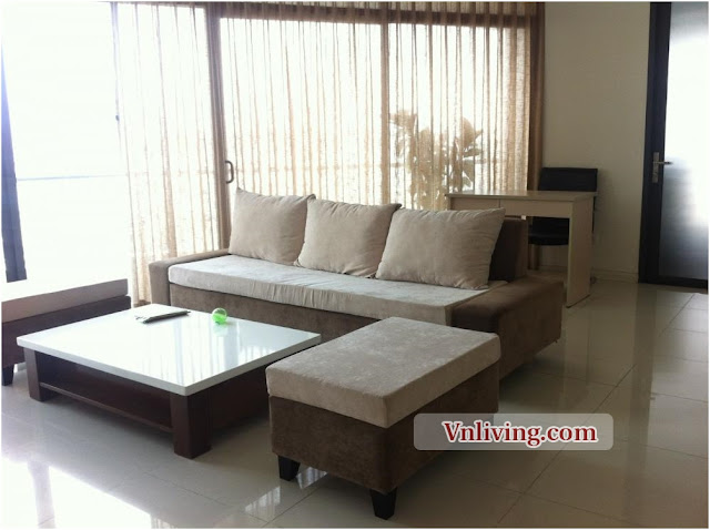 City Garden 145 sqm 3 bedrooms for lease in Binh Thanh Dist furnished