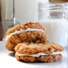 OATMEAL PECAN SANDWICH COOKIES